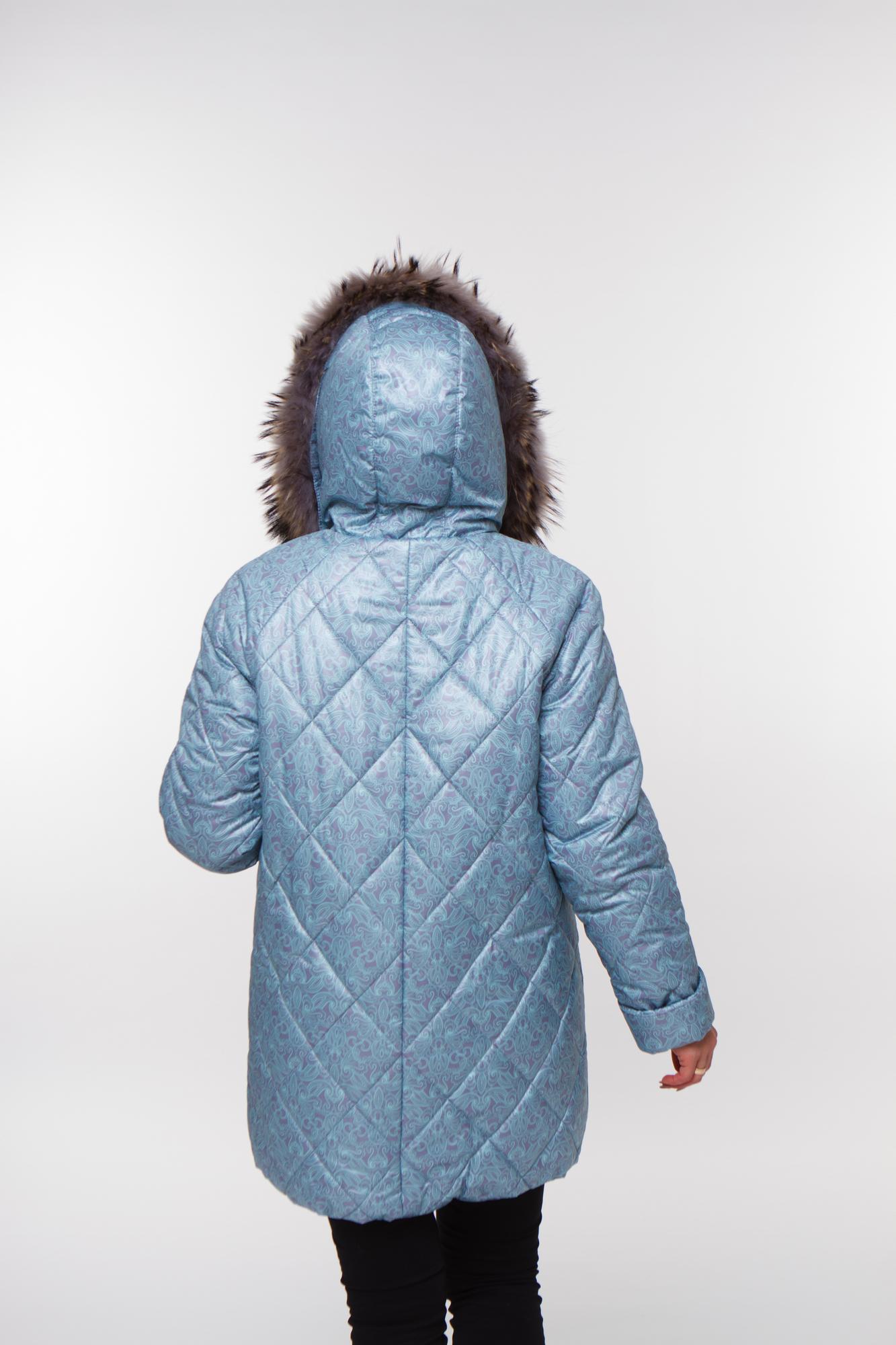 Куртка 05199 серо-зеленый