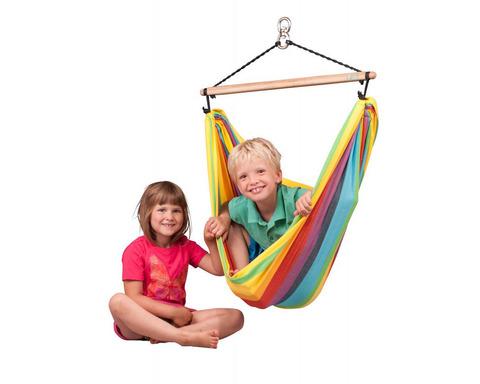 Кресло гамак детское из хлопка Iri цветное IRC11-5