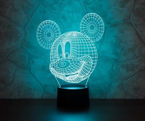3D ночник Микки Маус