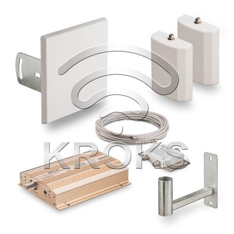 Комплект усиления GSM900 сигнала сотовой связи KRD-900-2