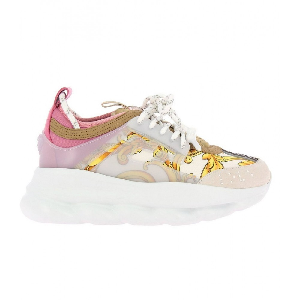 Versace Chain Reaction White/Pink (005)