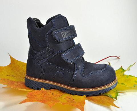 Ботинки утепленные Panda 01-18-19-СИН