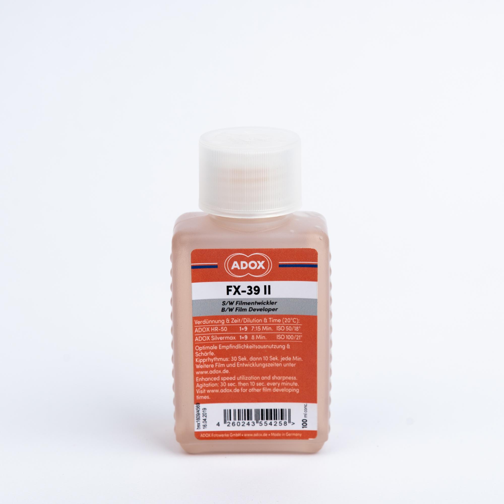 Проявитель ADOX FX-39 TYPE II 100мл (концентрат)