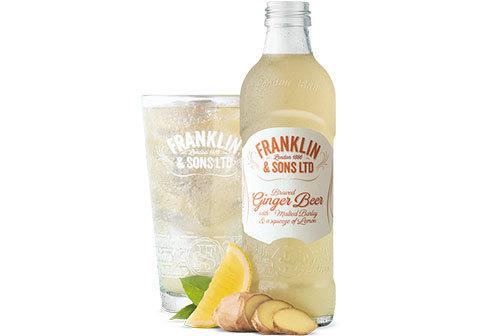 Напиток Franklin & Sons имбирь и лимон, 275мл