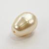 5821 Хрустальный жемчуг Сваровски Crystal Light Gold грушевидный 11х8 мм