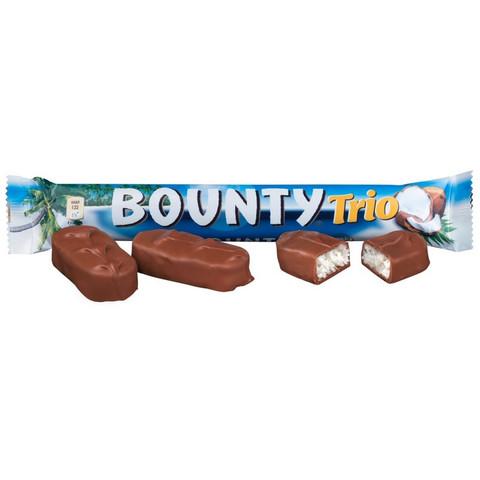 Шоколадный батончик Bounty трио 82,5г