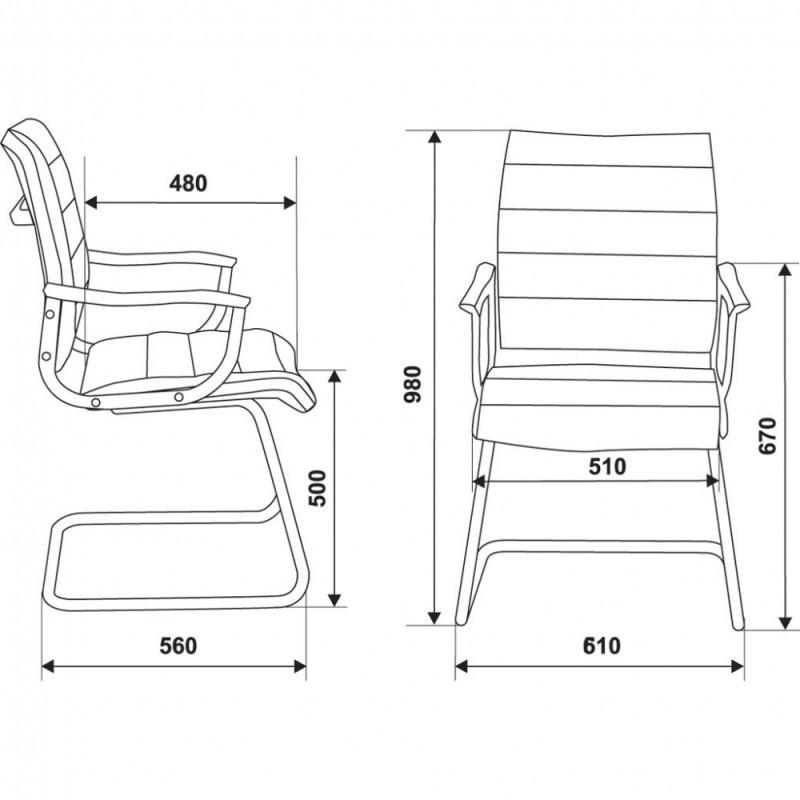 Офисное кресло CH-994AV
