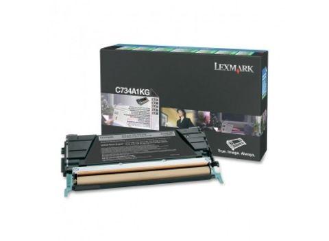Картридж для принтеров Lexmark X748/746 черный (black). Ресурс 12000 стр (X746A1MG)