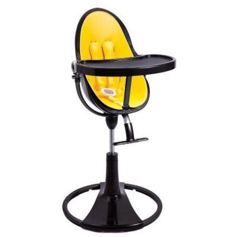 Стульчик Bloom Fresco Chrome Noir Canary Yellow