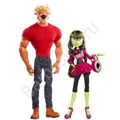 Игровой набор кукол Monster High Мэнни Таур и Айрис Клопс от Комик Кон - Manny Taur & Iris Clops - Comic-Con, Mattel