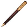 Роллер Aurora Nobile коричневый эбонит колпачок 925 пр позолота (AU-951)