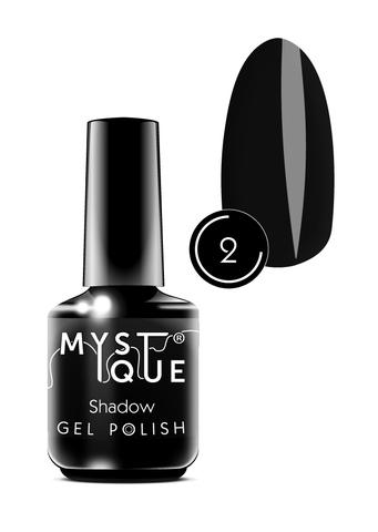 Mystique Гель-лак #2 «Shadow» 15 мл
