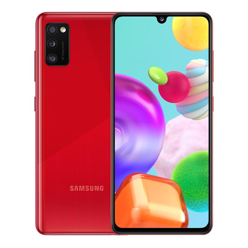 Смартфон Samsung Galaxy A41, 4/64 ГБ, красный