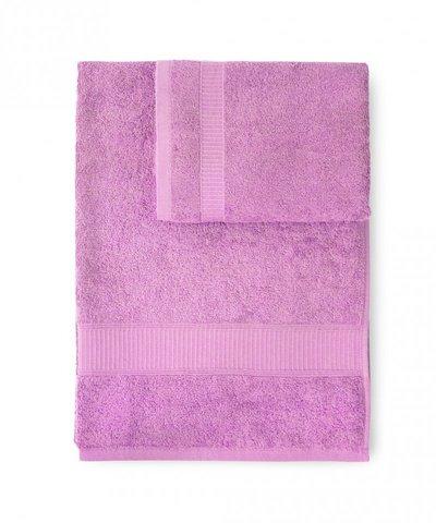 Набор полотенец 2 шт Caleffi Calypso розовый