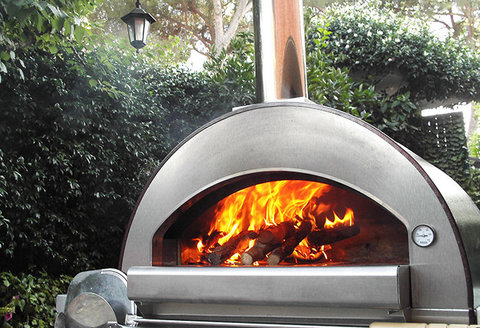 Печь дровяная 4 PIZZE (Alfa Refrattari)