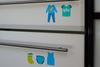 Комплект наклеек в детскую комнату 21×29,7 см, 2 листа, мальчики