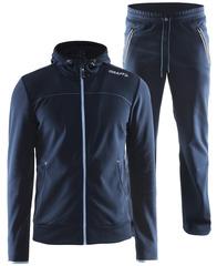 Костюм спортивный мужской Craft Leasure Hood синий