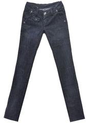5586 джинсы женские, темно-синие