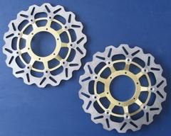 Тормозные диски передние для мотоцикла (2шт.) для Honda CBR600RR 03-12, CBR1000RR 04-05