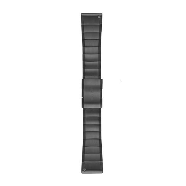 Стальной ремешок Garmin QuickFit 26 мм Slate Gray