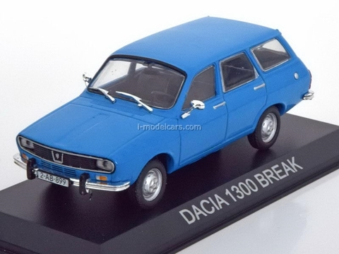 Dacia 1300 Break blue 1:43 DeAgostini Masini de legenda #29
