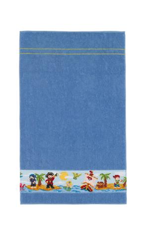Полотенце детское 50х80 Feiler Korsar синее