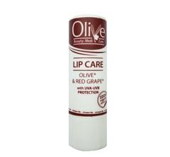 Гигиеническая помада для сухих губ Olive Красный виноград.