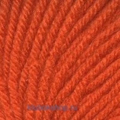 Пряжа Кроха (Троицкая) 499 Ярко-оранжевый - купить в интернет-магазине недорого klubokshop.ru