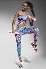 Легинсы для фитнеса разноцветные