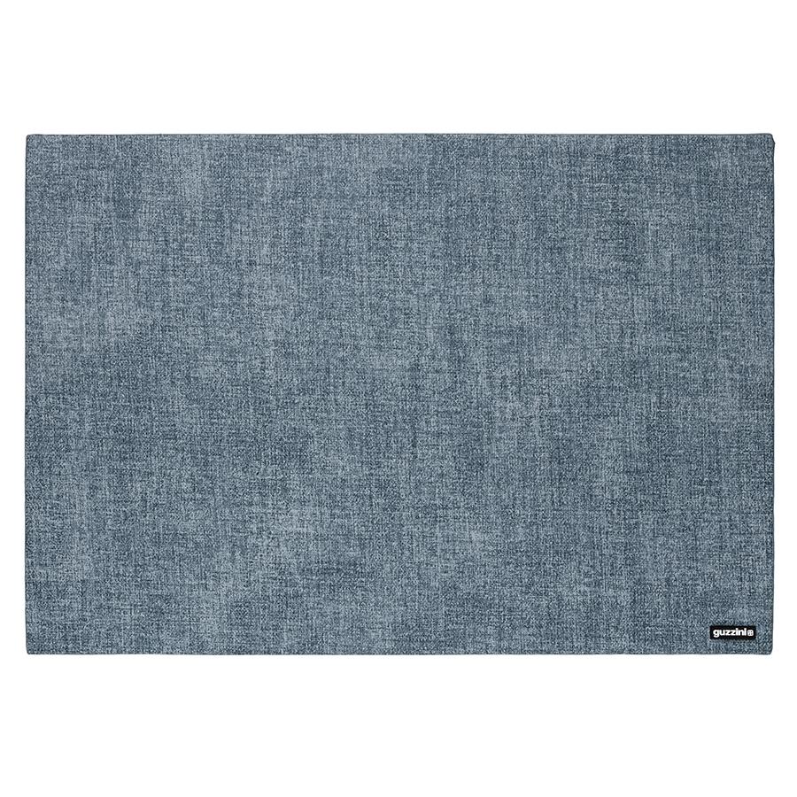 Коврик сервировочный Tiffany двусторонний синий Guzzini 22609181Сервировка стола<br>Дизайнеры Guzzini уделяют особое внимание яркости и текстуре изделий, чтобы создать стильный и практичный аксессуар. Двусторонний сервировочный коврик Tiffany сделан из плотного приятного на ощупь материала, который не впитывает жидкость и жир и легко моется. Такой коврик станет отличным дополнением к интерьеру в стиле кантри или шебби-шик.<br>