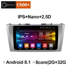 Штатная магнитола на Android 6.0 для Toyota Camry 06-11 Ownice C500+ S9606P