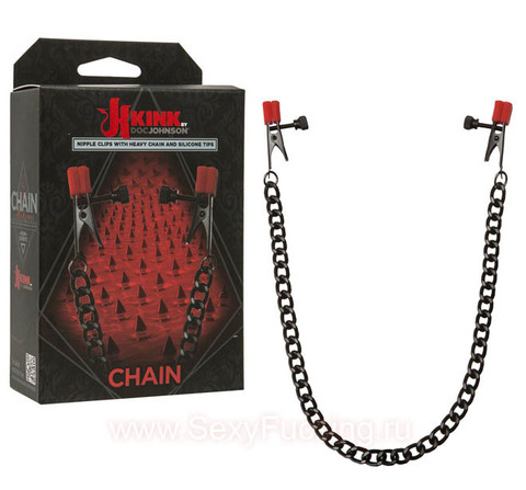 Зажимы на соски Kink - Chain - Nipple Clips