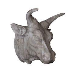 Декор 51х43х55 Roomers Голова быка