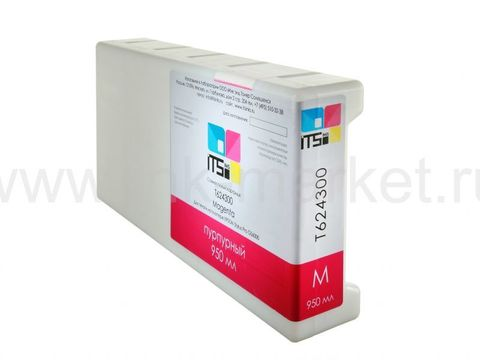 Совместимый картридж для Epson Stylus Pro GS6000 Magenta 950 ml Solvent based (9T624300)