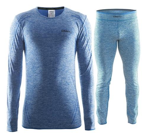 Комплект термобелья мужской Craft Comfort (blue)
