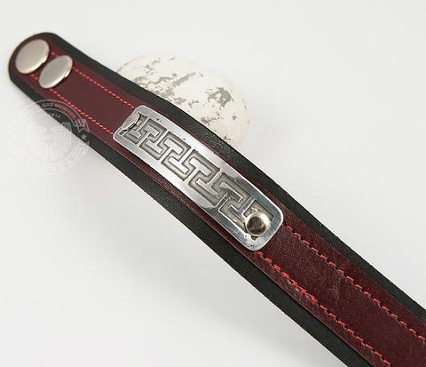 BL457-4 Оригинальный мужской браслет бордового цвета, ручная работа