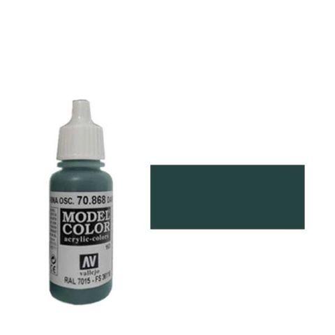 163. Краска Model Color Темная Морская Волна 868 (Dark Seagreen) укрывистый, 17мл