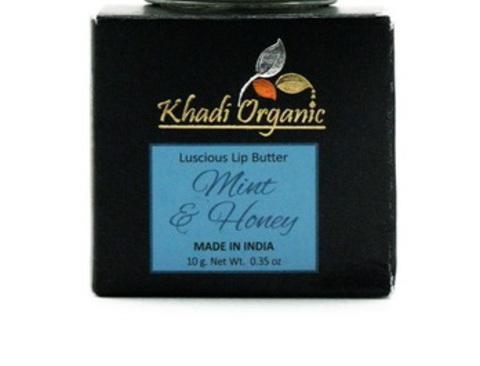 Успокаивающий бальзам для губ с мятой и медом
