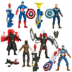Captain America Super Soldier Gear Figures Series 02