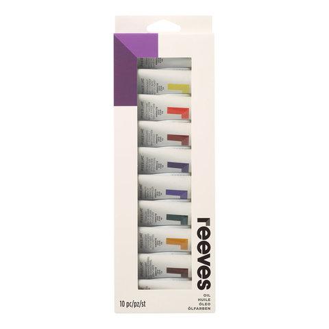 Набор масла Reeves 22 мл*10 цв, в картонной упаковке