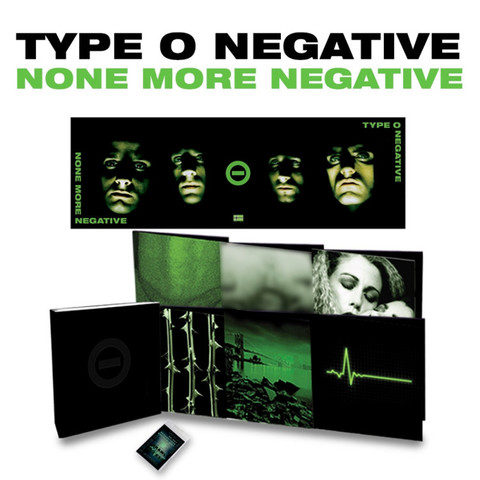 Type O'Negative / None More Negative (Limited Edition Box Set)(Coloured Vinyl)(12LP)