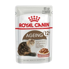 Royal Canin Ageing +12 влажный корм В СОУСЕ для пожилых кошек старше 12 лет с первыми признаками старения