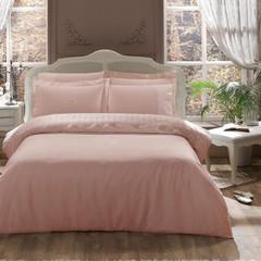 Постельное белье CAMEO розовое с кружевом   TIVOLYO HOME Турция