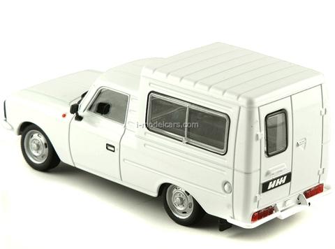 IZH-27156 white 1:43 DeAgostini Auto Legends USSR #76