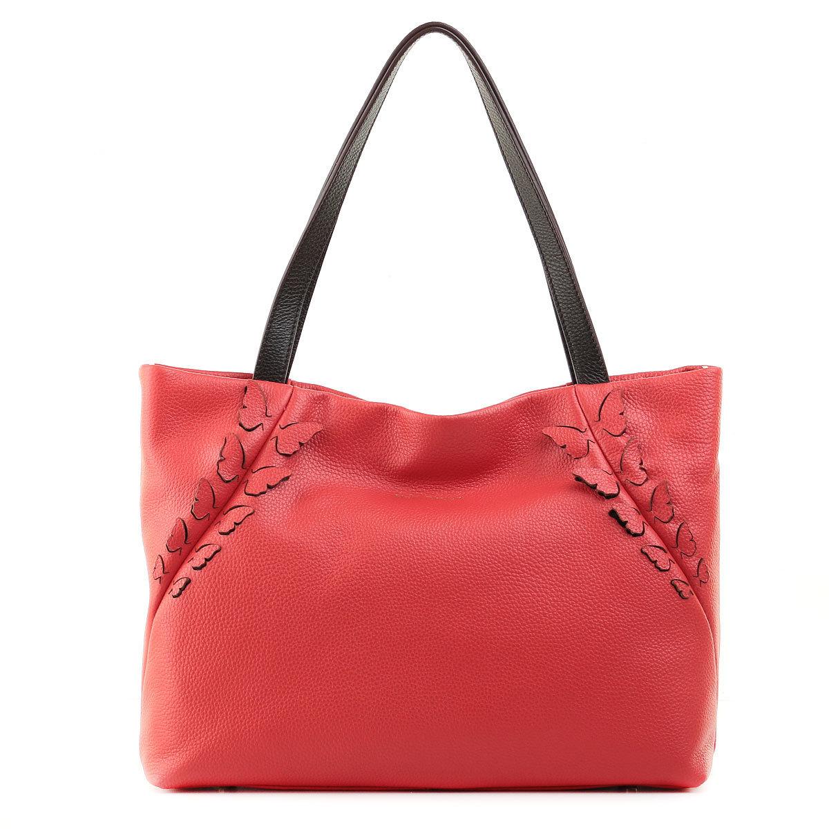 3013 FD кожа коралл/фарфала  (сумка женская)