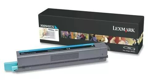 Картридж для принтеров Lexmark X925 голубой (cyan). Ресурс 7500 стр (X925H2CG)