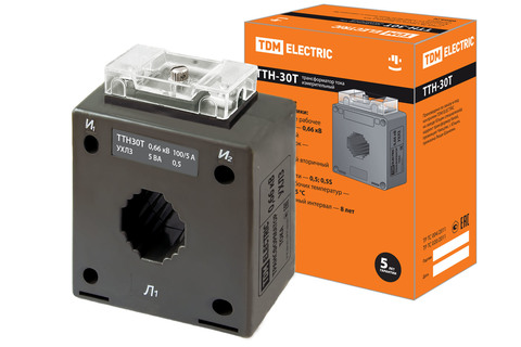 ТТН  30T/100/5- 5VA/0,5-Р TDM