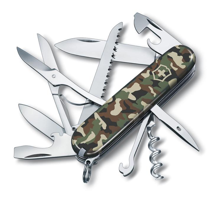 Нож Victorinox Huntsman, 91 мм, 15 функций, камуфляжный*