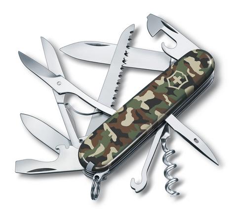 Нож Victorinox Huntsman, 91 мм, 15 функций, камуфляжный