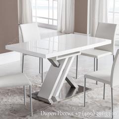 Обеденный стол DUPEN DT-16 Раскладной Белый